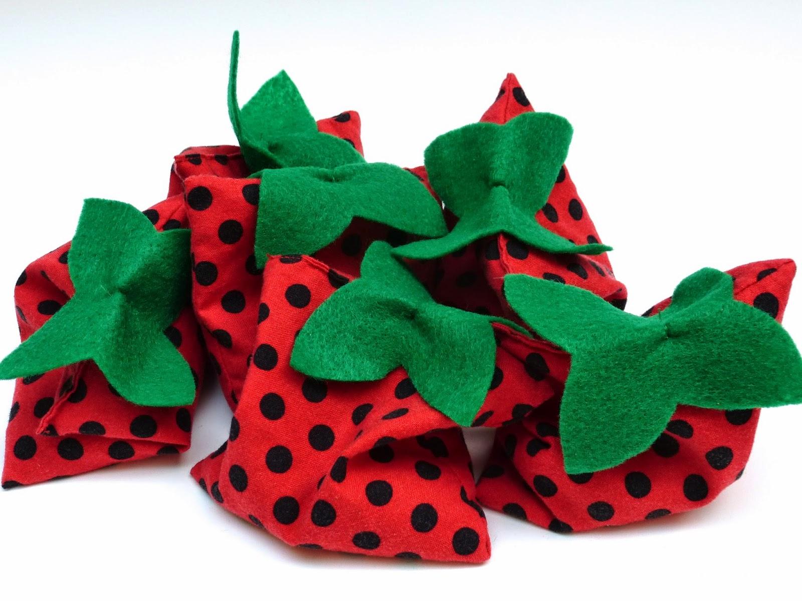 Strawberry Beanbags