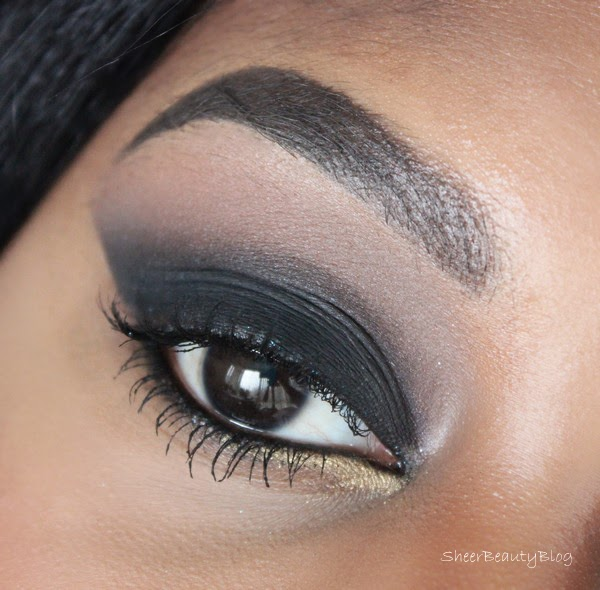 smokey eye makeup with kat von d shadows