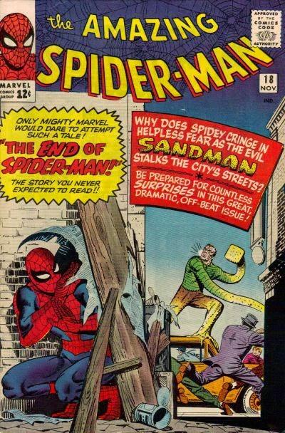 Amazing Spider-Man #18, Sandman