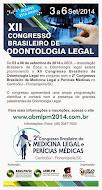 XII Congresso Brasileiro de Odontologia Legal
