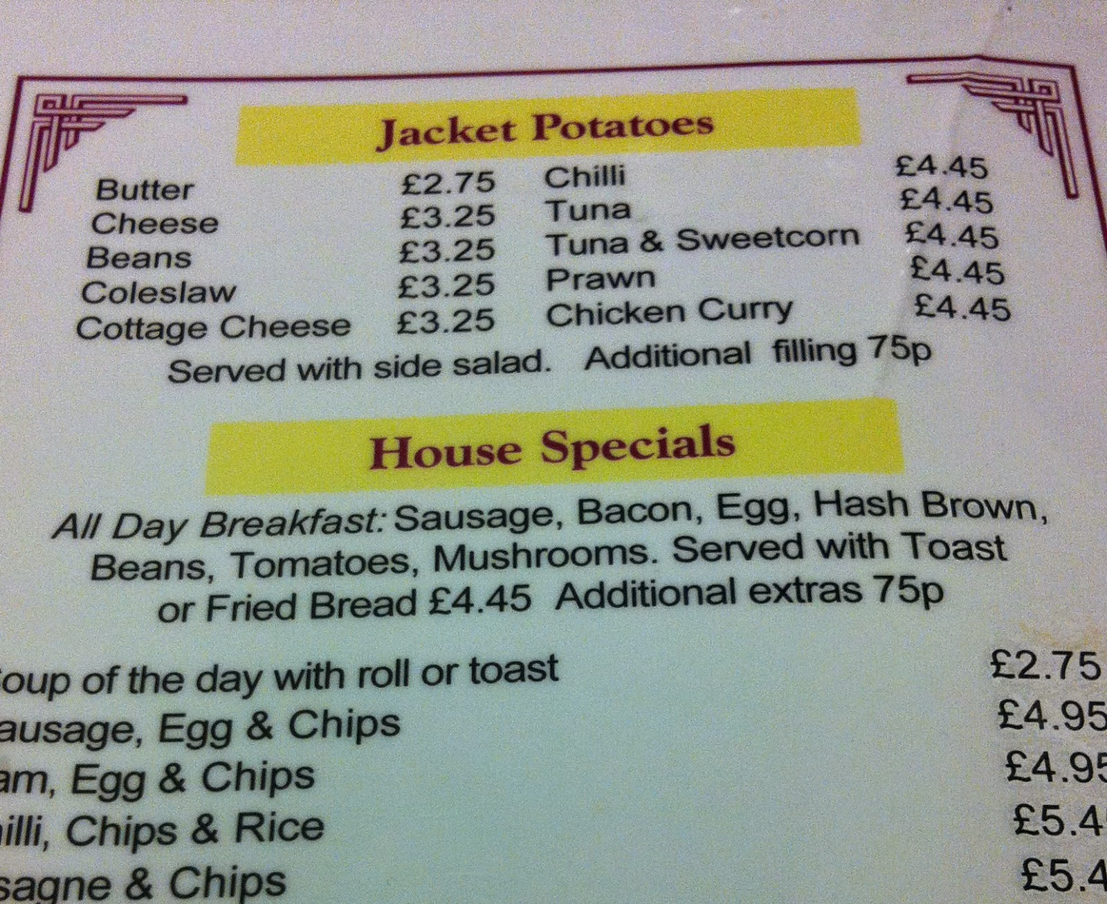 The Fry up Inspector: Cafe on the corner - Norwich