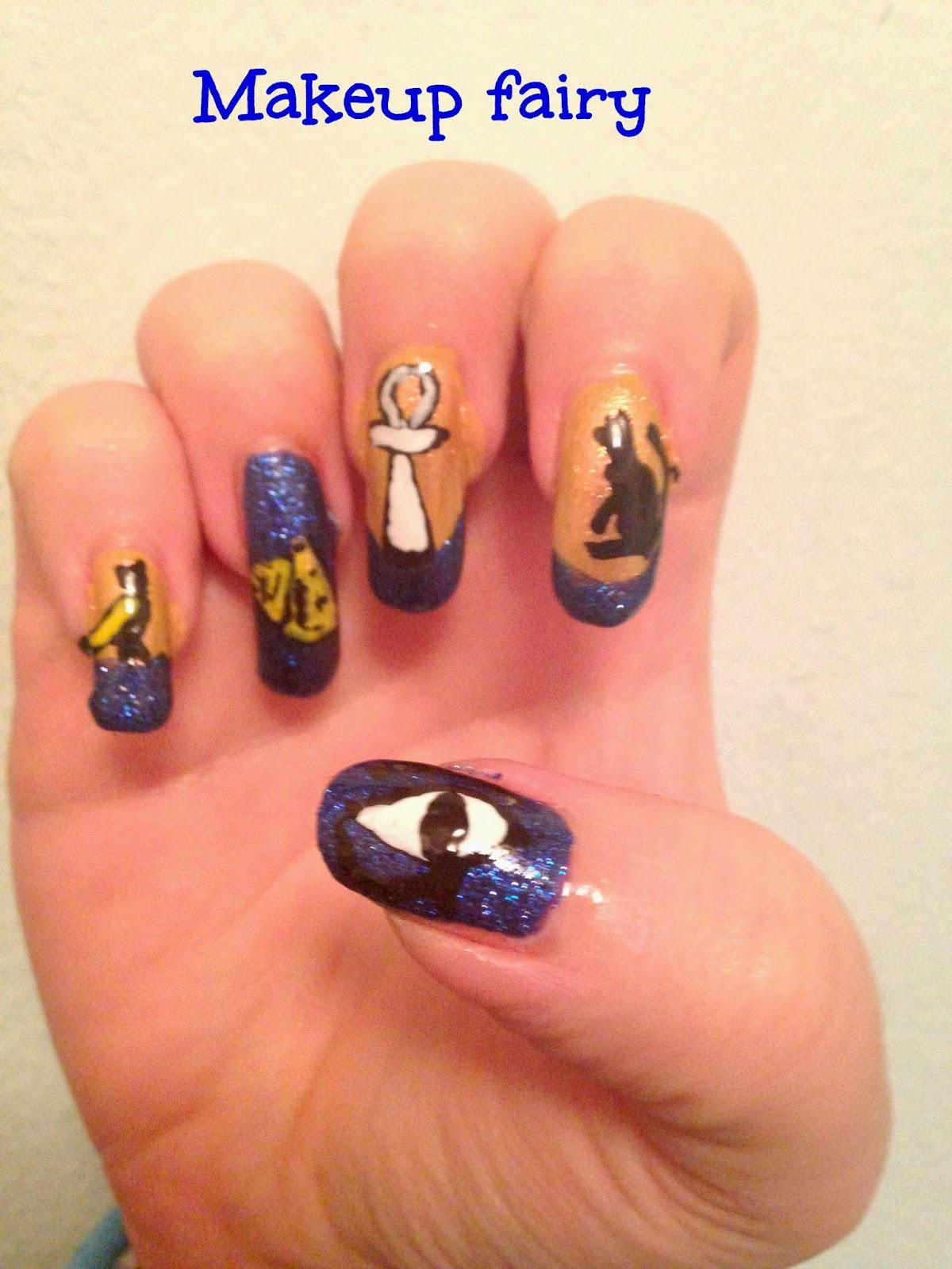Tinklesmakeup Egyptian Nail Art