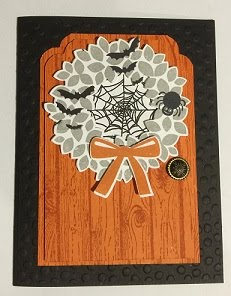 Halloween Door Card