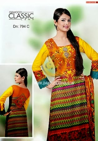 Elegant Lawn Collection 2014