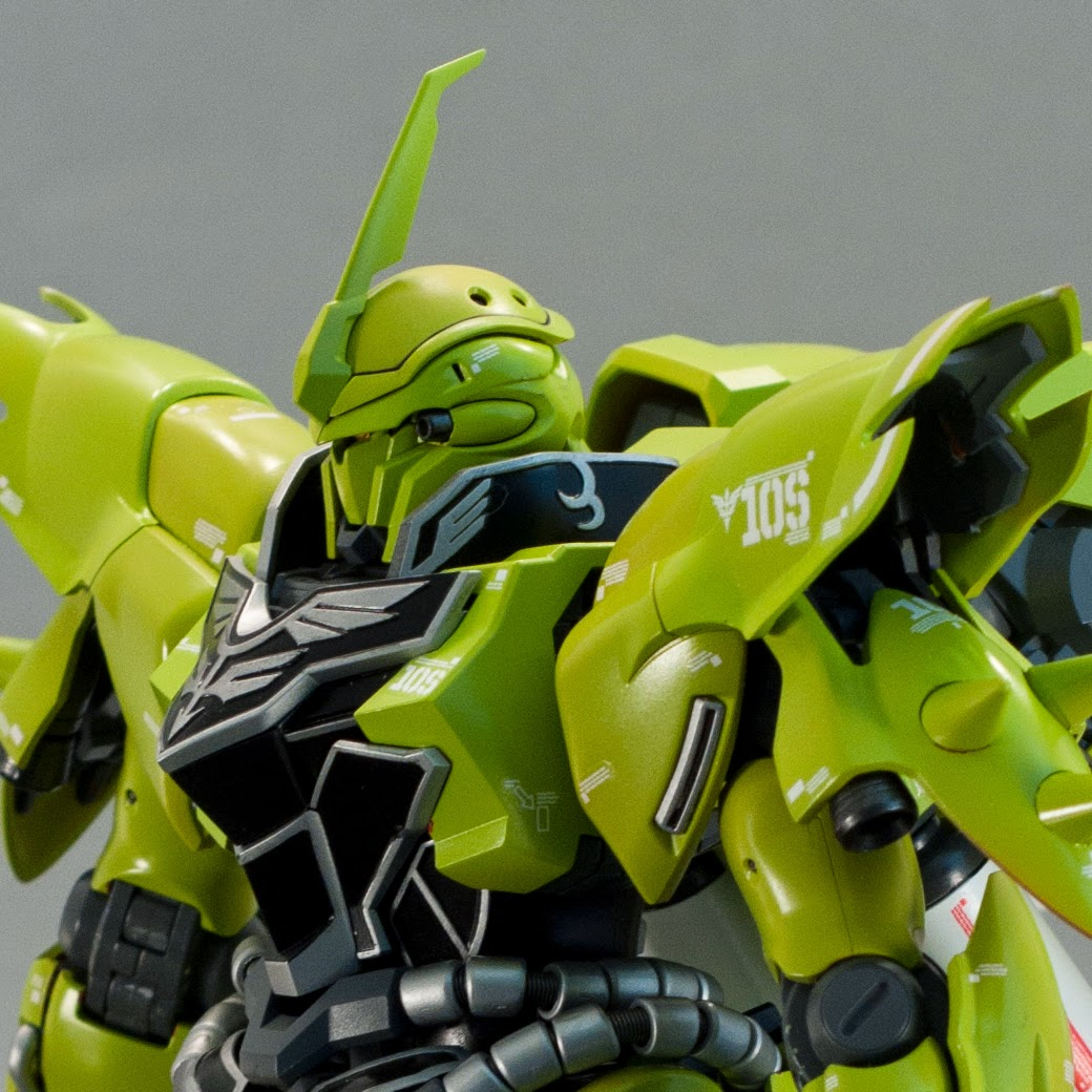 Sleeves quot  detail on Sinanju  Kshatriya and other Neo Zeon mobile suitsZeon Mobile Suits List