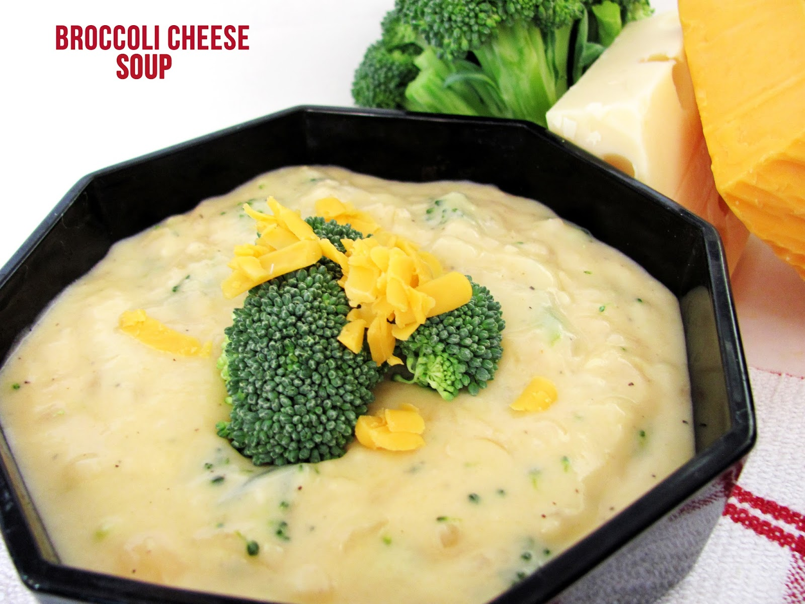 Feeding My Giant: Broccoli Cheese Soup