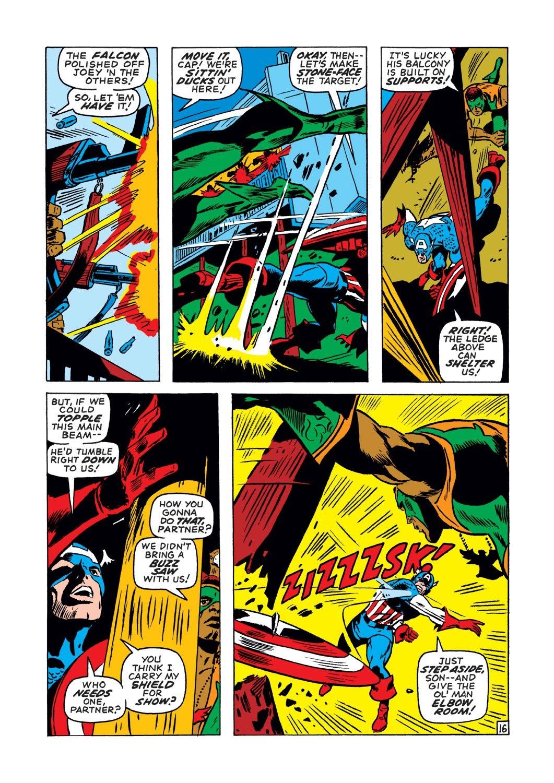 Captain America (1968) Issue #134 #48 - English 16