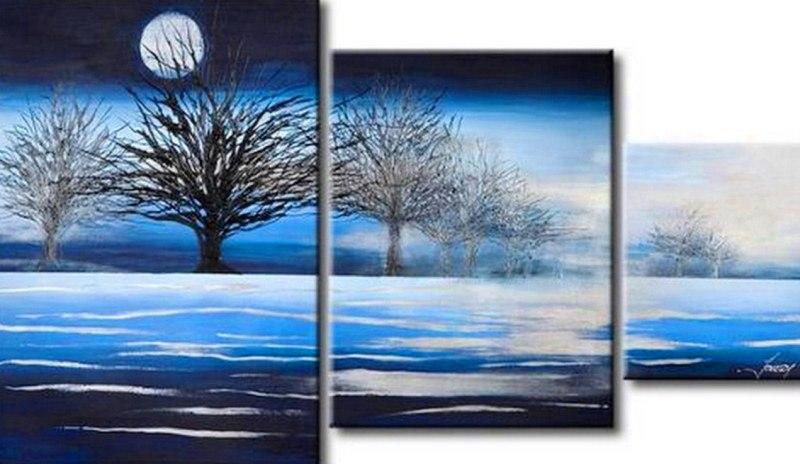 cuadros pinturas oleos paisajes modernos