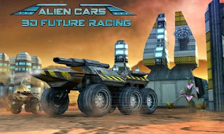 Screenshots of the Alien cars: 3D future racing for Android tablet, phone.
