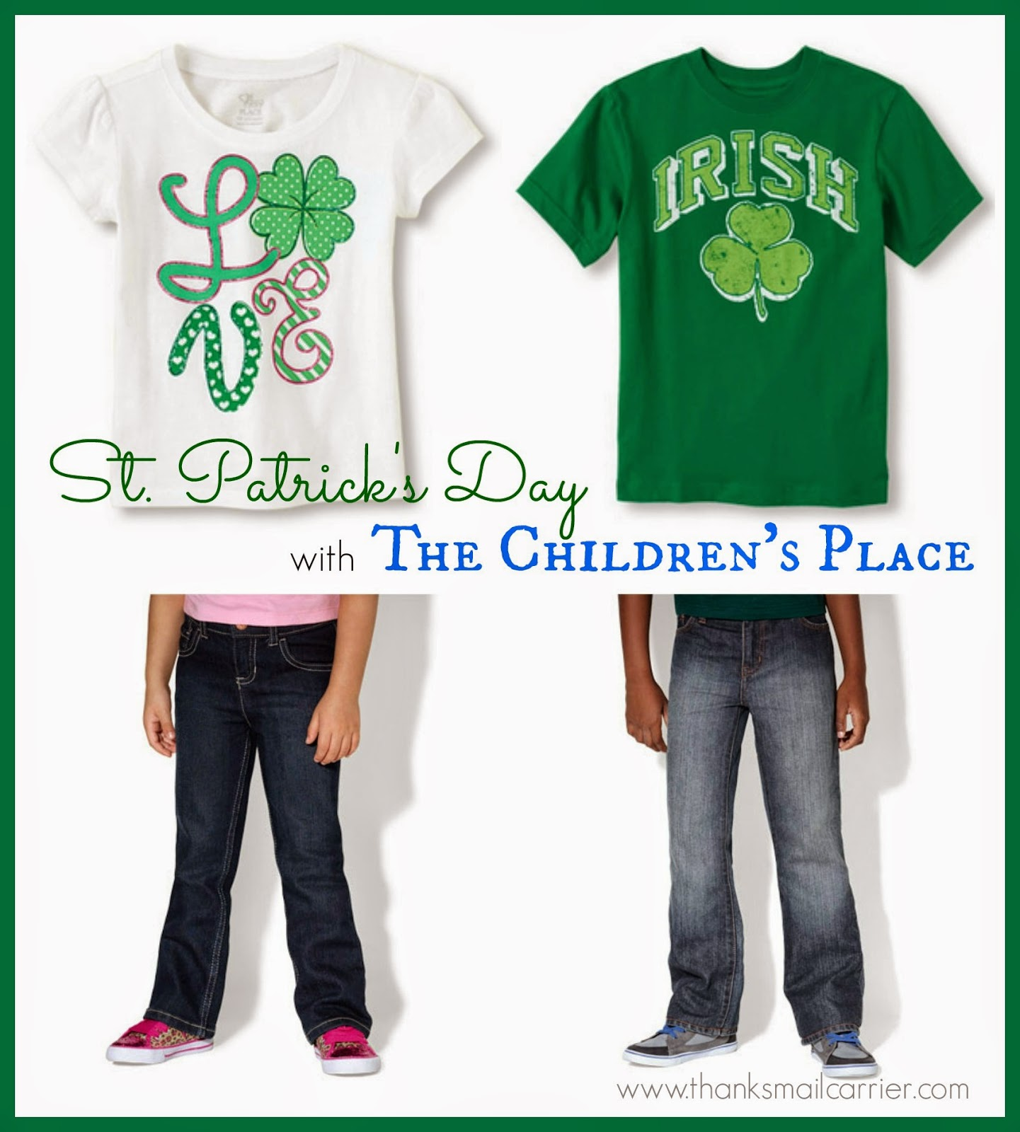kids St. Patrick's Day clothing