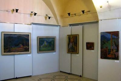 Фрагмент экспозиции Сельских в Музее искусств Прикарпатья