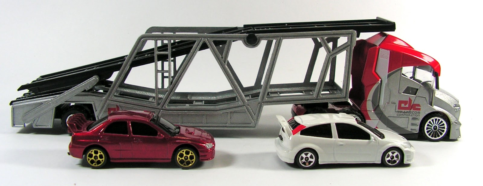 Toy Car Rack : Capital diecast garage majorette car carrier