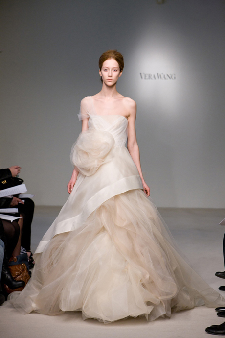 Adrian and jana wedding trends coloured wedding dresses for Pink wedding dress vera wang