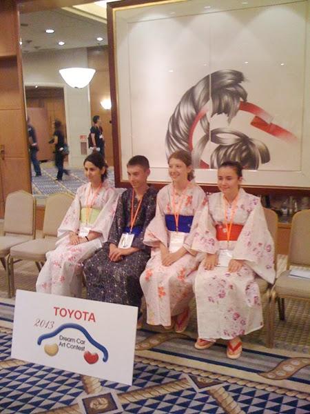 4 romani castigatori in Japonia