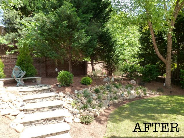 required a creative solution check out the before and after pics below