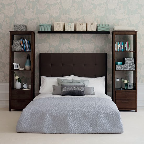Modern Furniture: 2014 Clever Storage Solutions for Small Bedrooms
