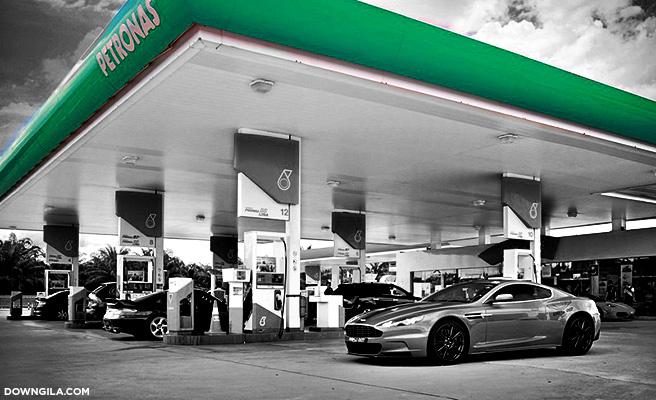 petronas station stesen minyak petronas minyak naik