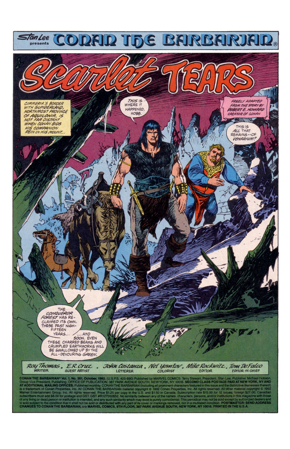 Conan the Barbarian (1970) Issue #261 #273 - English 2