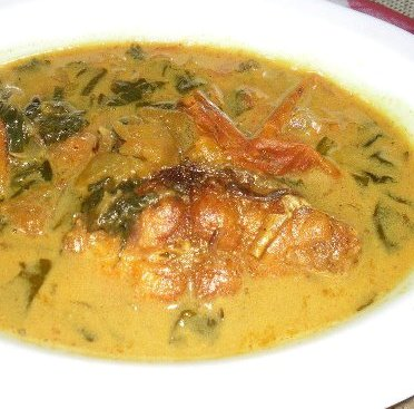 Indian food recipe fish with heartleaf masoondori paat for Assamese cuisine fish