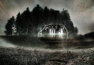 Gothic Trees Dark Gothic Wallpaper