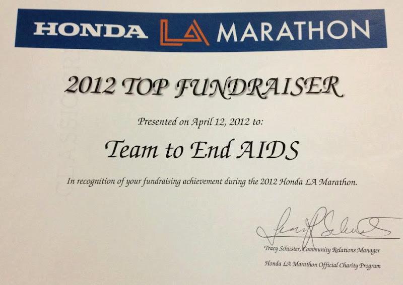 T2 Top LA Marathon fundraiser