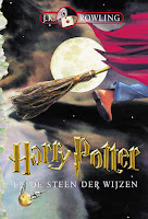 Harry Potter en de steen der wijzen J.K. Rowling cover