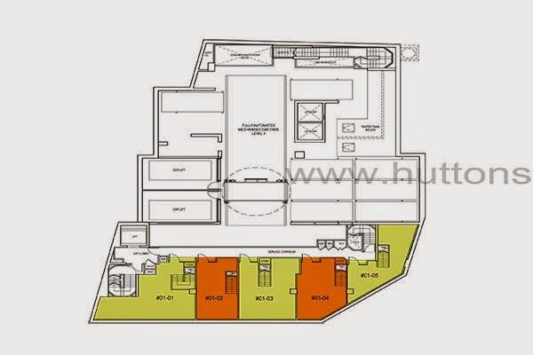 Ascent @ 456 Commercial Shops Floor Plan