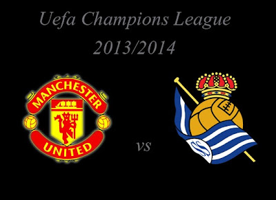 Champions League Group Stage Manchester United vs Real Sociedad 2013