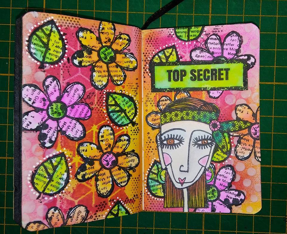 Badass mini Art Journal