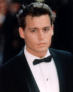 JOHNNY DEPP SHORT HAIRSTYLE - 90S HAIR
