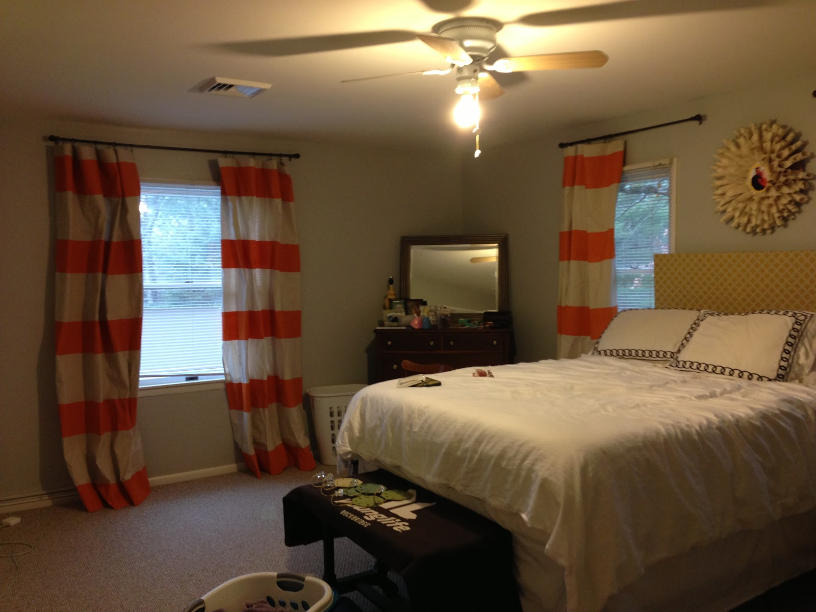 the beginning of a mrs master bedroom curtains