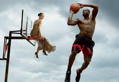 Dwyane Wade Vogue olympic team