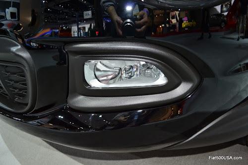 Fiat 500X Fog and Cornering Lamp