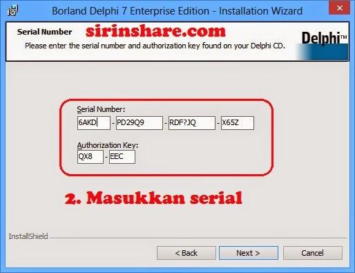 serial key borland delphi 7