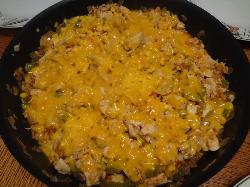 Mexican chicken rice bake recipe
