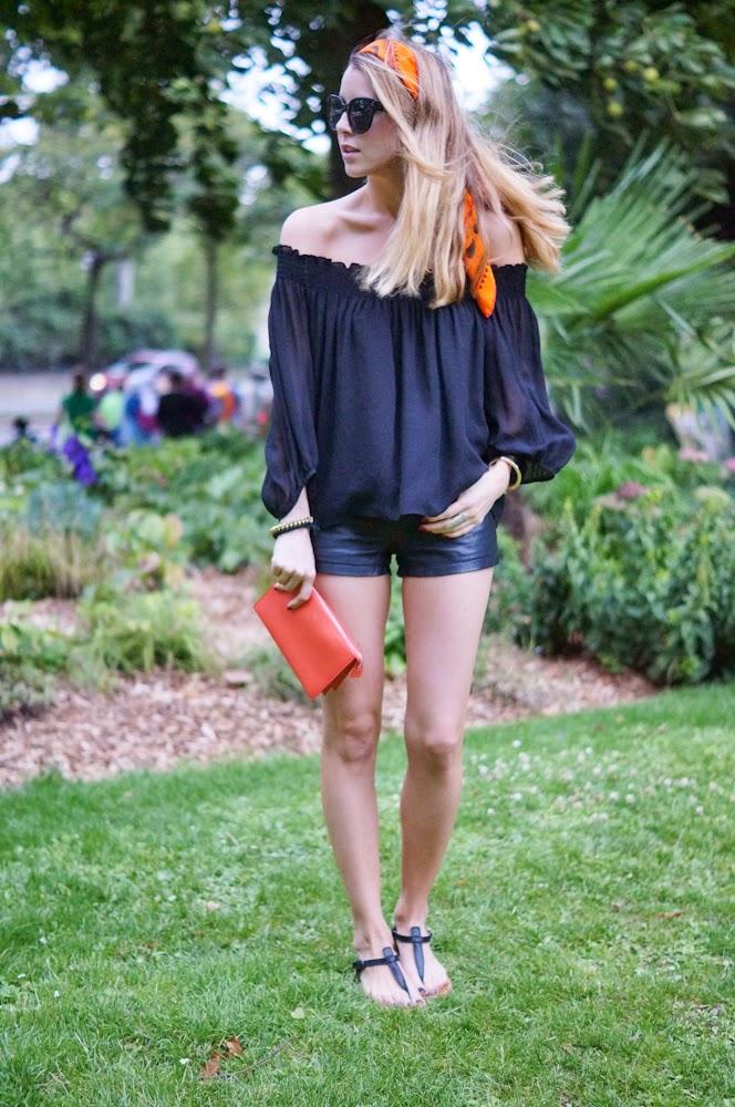 Topshop, Zara, céline audrey, hermès, hemès scarf, céline, k-jacques, streetstyle, outfit, look du jour