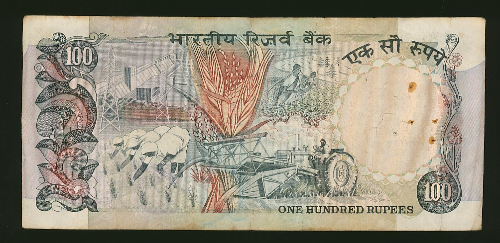 Jk Collection World 100 Rupee Old Note Singed By R N MALHOTRA