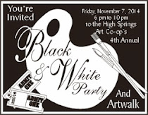 Next Month HSAC Black & White Party and Artwalk
