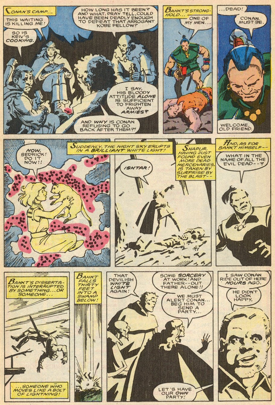 Conan the Barbarian (1970) Issue #195 #207 - English 20