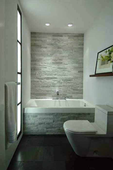 Dry Bathroom Remodeling Austin with Brick Wall Design pictures