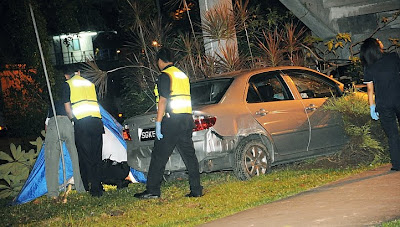 Singapore  Accident Picture on Gurkha Officer In Singapore Killed In Car Accident While Jogging