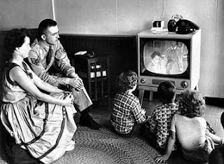Viendo la tele