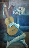 Batranul chitarist oglindit