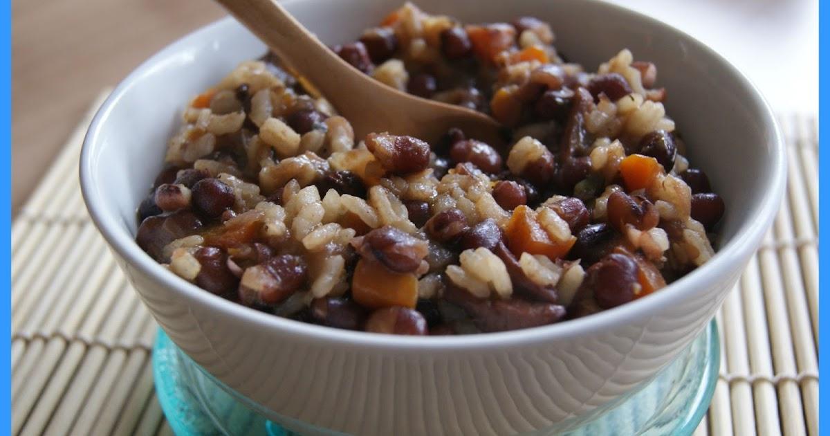El rinc n vegetariano de marga jud as azuki con arroz for Cocinar judias negras