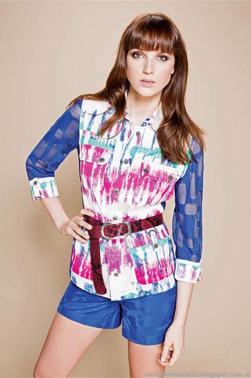 Moda primavera verano 2015, estampas de verano, ropa casual femenina.