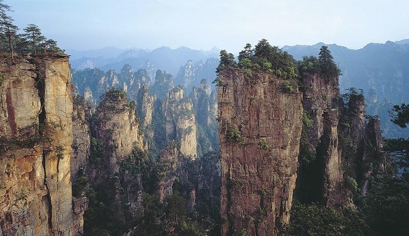 Huangshan bjergene, Anhui provinsen i det østlige Kina