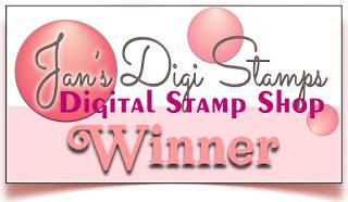 Winner - Jan's Digis Challenge December 2020