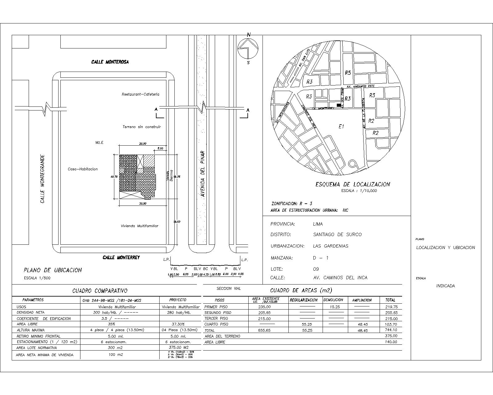 Proyectos de dise o arquitectura ciudad y m s dibujo for Pie de plano arquitectonico pdf