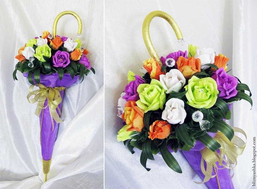Идеи для букетов из цветов своими руками 36