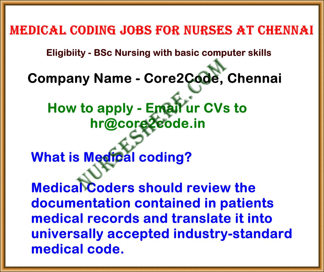 Medical Coding Job For Nurses July 2015 Nurseshere